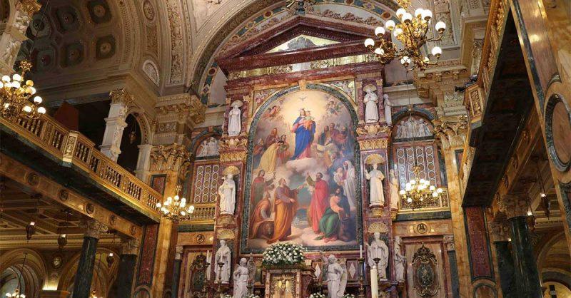 Imagem da Basílica de N.ª S.ª Auxiliadora de Turim