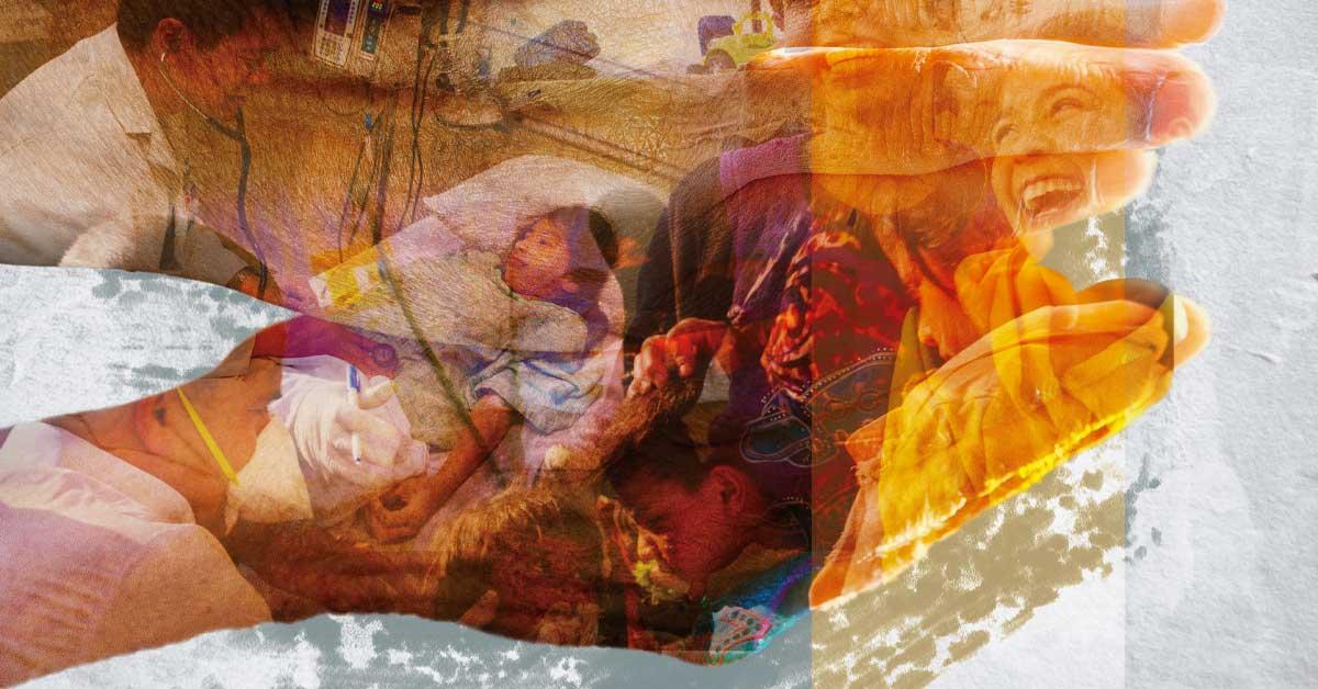 Imagem do cartaz de Outubro Missionário