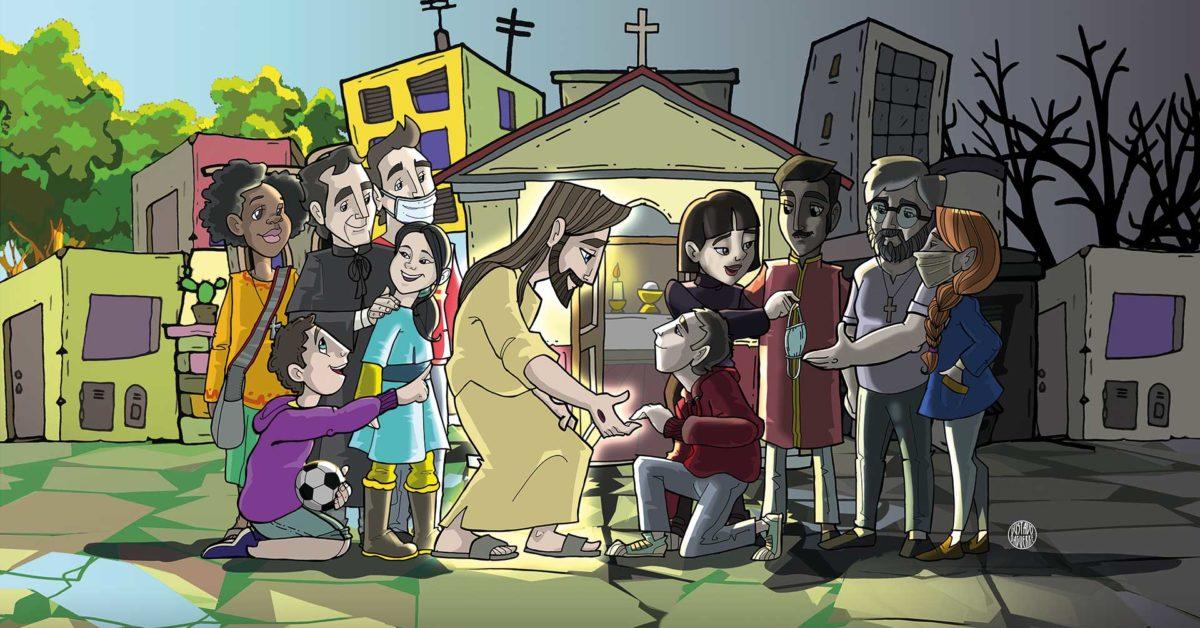 Lema do Reitor-Mor dos Salesianos 2021
