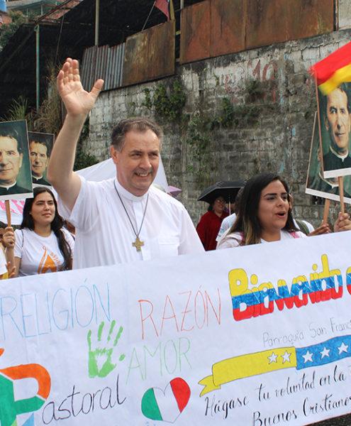 11Pe. Ángel Fernández Artime em visita à Venezuela em fevereiro de 2020