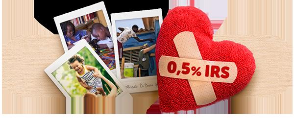 Consignação de 0,5% do seu IRS - Fundação Salesianos