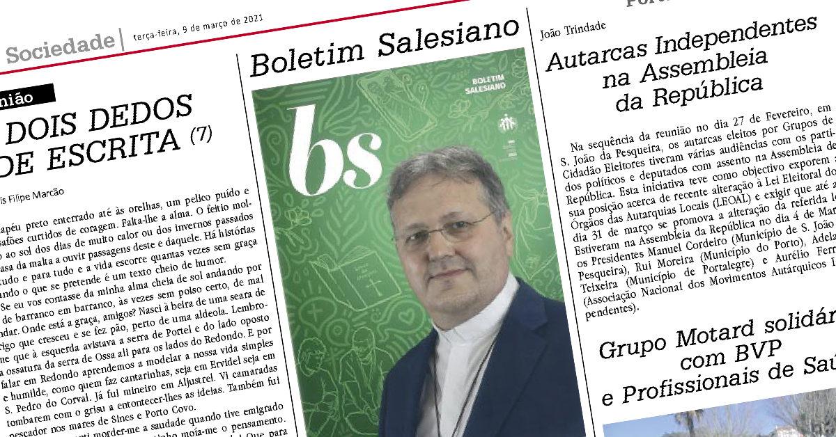 boletim salesiano no diário do sul