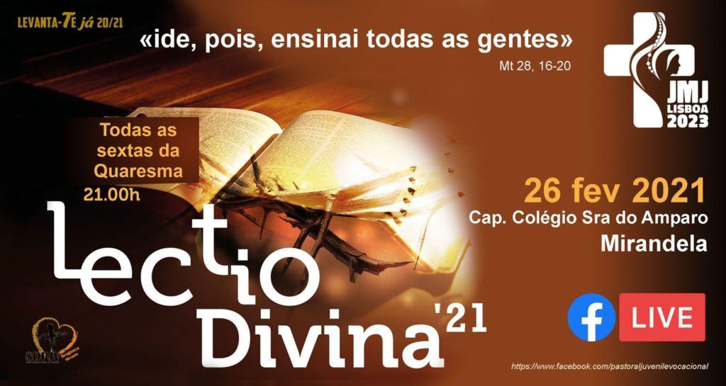 Lectio Divina Mirandela