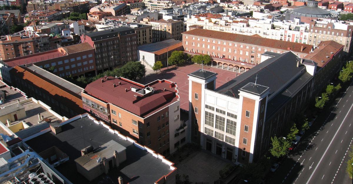Colégio de Atocha, em Madrid, dos Salesianos de Espanha